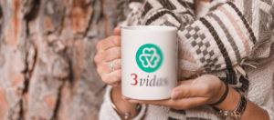 3 Vidas - Branding
