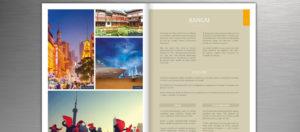 Página de cidades - Revista Ásia Pier 1