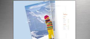 Caderno de Ski - Sete Mares - Índice