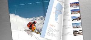 Caderno de Ski - Sete Mares - Páginas