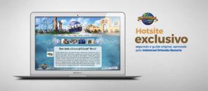 Hotsite Universal Orlando - Home