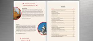 Revista Aniversário Transeuropa - Índice