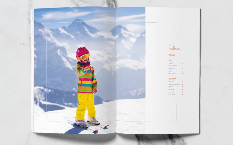 Caderno de Ski Sete Mares
